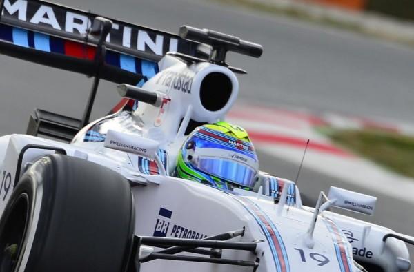F1 2015 - MONTMELO - Jeudi 26 fevrier - FELIPE MASSA WILLIAMS - Photo Max MALKA.