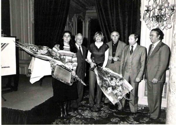 JACQUES-FOULON-Cérémonie-de-la-Remise-des-Prix-1978-avec-ses-pîlotes-Michele-MOUTON-et-Francoise-CONCONI