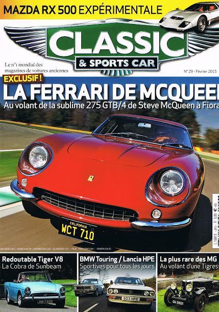 MAGAZINE CLASSIC SPORTS CAR Fevrier 2015