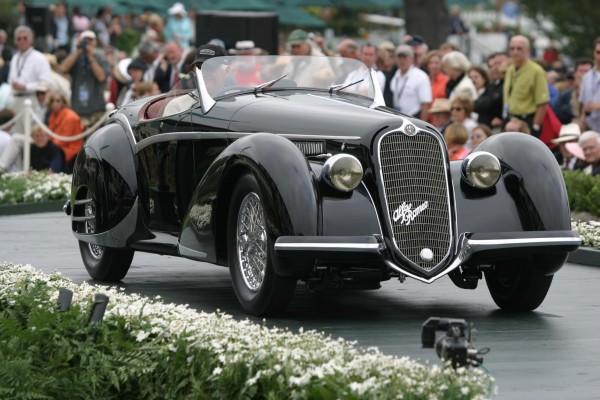 PEEBLE BEACH 2014 - alfa 8C cabriolet 1936