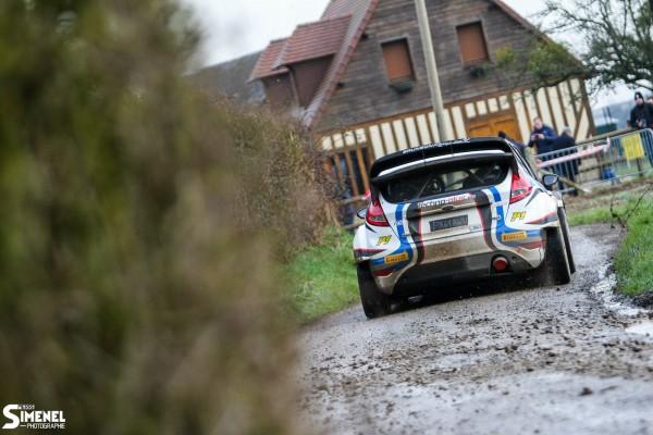 RALLYE DE LA COTE FLEURIE 2015 La FORD FIESTA WRC de ERIC BRUNSON et DAVID HEULIN- Photo Pierre SIMENEL