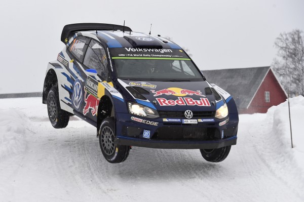 SUEDE 2015 -POLO VW WRC de Seb OGIER.