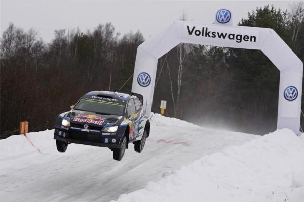 SUEDE 2015 - VW POLO WRC -MIKKELSEN -FLOENE