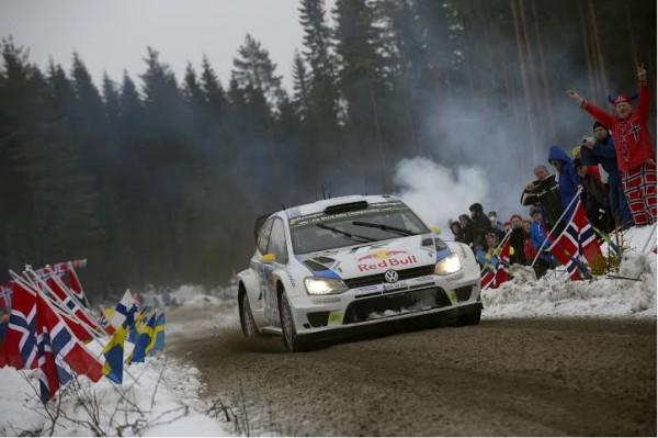 WRC 2014 SUEDE MIKKELSEN POLO VW WRC.