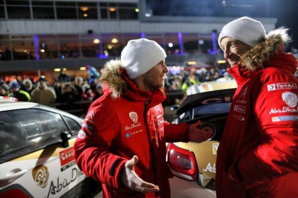 WRC 2014 SUEDE - Mads OSTBERG et Kris MEEKE Equipe CITROEN