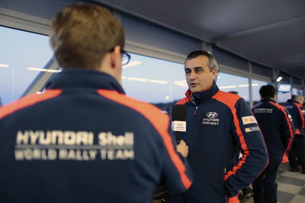 WRC 2015 Alain PENASSE le Team manager.