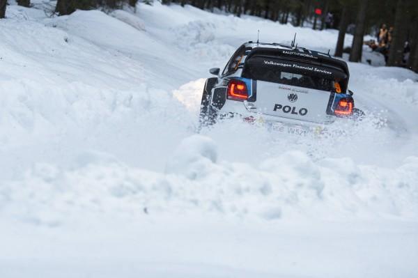 WRC 2015 SUEDE - Andreas MIKKELSEN perd LA VICTOIRE dans la POWER STAGE ce Dimanche 15 fevrier avec sa POLO WRC