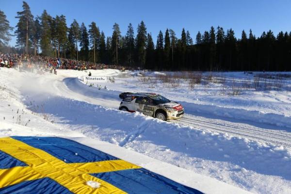 WRC 2015 SUEDE  KRIS MEEKE