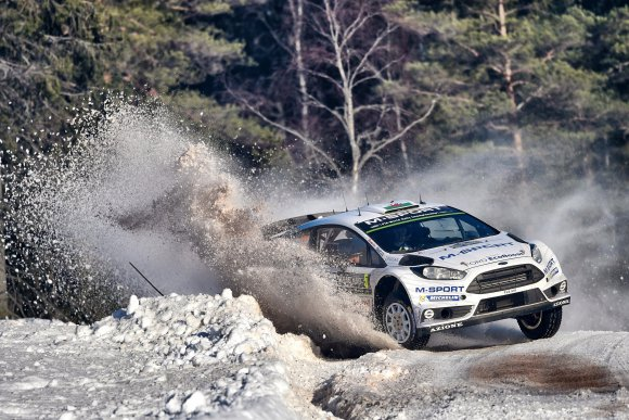 WRC-2015-SUEDE-La FORD d'Elfyn-EVANS