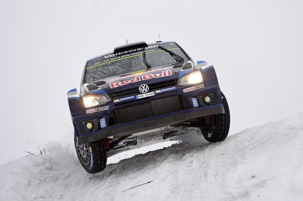 WRC 2015 SUEDE -  Au volant de sa POLO WRC, Seb OGIER FILE VERS LA VICTOIRE dans la POWER STAGE ce Dimanche 15 fevrier a