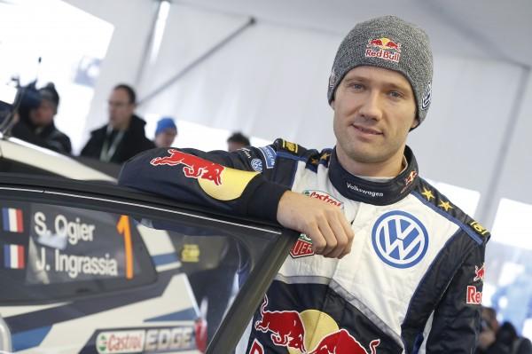 WRC 2015 SUEDE - TEAM VW -OGIER portrait.
