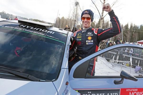 WRC 2015 SUEDE THIERRY NEUVILLE  décroche une magnifique seconde place avec sa HYUNDAI i20WRC