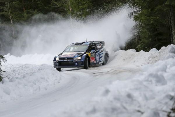WRC 2015 SUEDE VW  POLO WRC de Seb OGIER