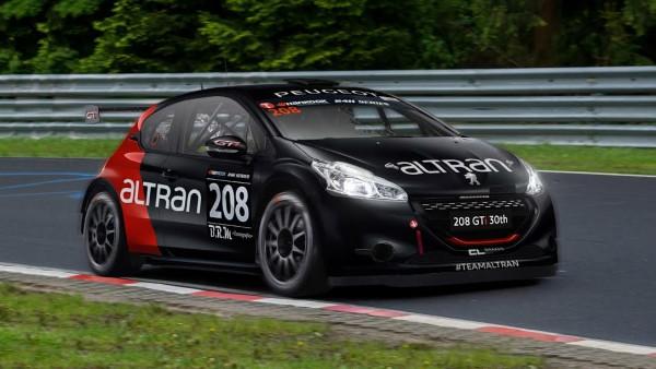 12 HEURES DU MUGELLO 2015 - La 208 GTI du Team ALTRAN
