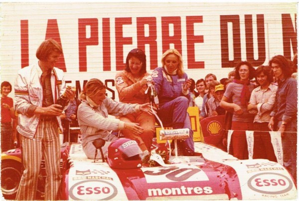 24-HEURES-DU-MANS-1974-Equipage-Yvette-FONTAINE-Chrstine-BECKERS-et-MARIE-LAURENT.