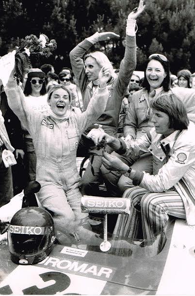 24-HEURES-DU-MANS-1974-Victoire-de-la-CHEVRON-de-MARIE-LAURENT-CHRISTINE-BECKERS-et-Yvette-FONTAINE