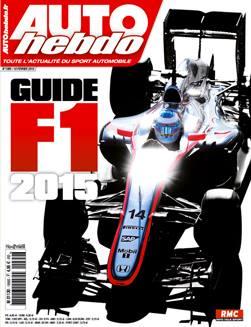 AUTO HEBDO GUIDE F1 2015