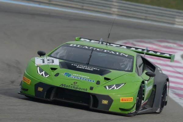 BLANCPAIN-2015-PAUL-RICARD-Essai-PRO-CUP-Grasser-Racing-Team-Lamborghini-Huracan-GT3. -12 mars 2015