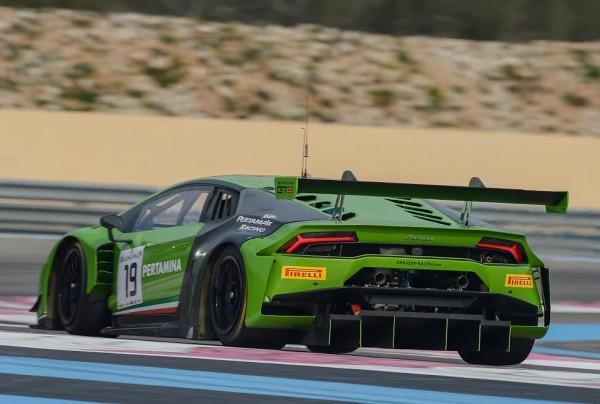 BLANCPAIN-2015-PAUL-RICARD-Essai-PRO-CUP-Grasser-Racing-Team-Lamborghini-Huracan-GT31. 12 mars 2015
