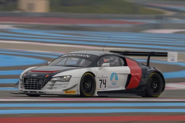 BLANCPAIN-2015-PAUL-RICARD-Essai-PRO-CUP-TEAM-ISR-Audi-R8-LMS-ultra-. 12 mars 2015