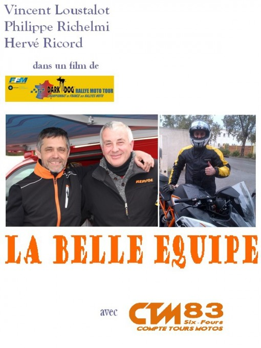 DARK DOG RALLYE MOTO TOUR 2015- UNE B3LLE EQUIPE DE RETOUR