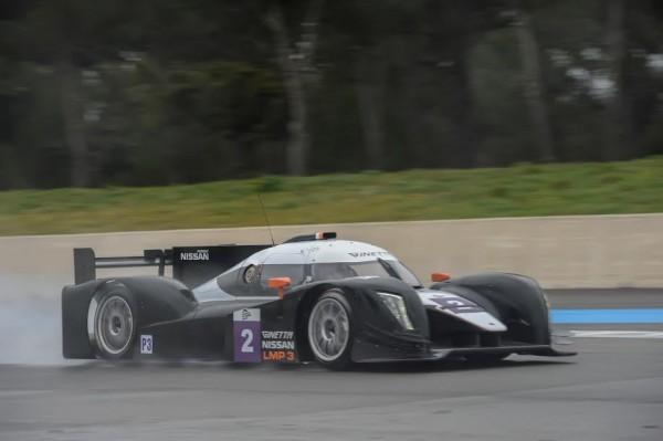 ELMS-2015-Circuit-PAUL-RICARD-lA-GINETTA-NISSAN-N°2-sous-la-pluie-mardi-23-mars-Photo-Antoine-CAMBLOR