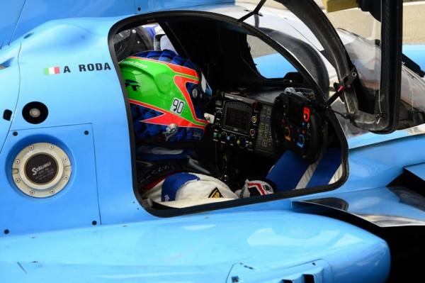 ELMS-2015-PAUL-RICARD-Essai-24-mars-Andréa-RODA-Stand-LIGIER-JSP2-NISSAN-équipe-ALGARVE-PRO-Racing-Photo-Max-MALKA.