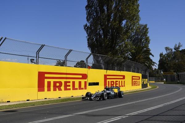F1 2015 MELBOURNE - La MERCEDES de Nico ROSBERG.