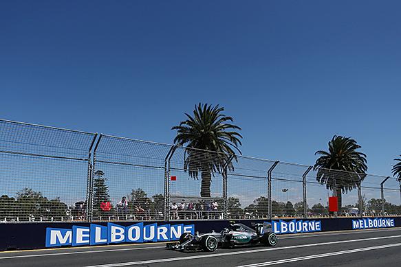 F1 2015 MELBOURNE MERCEDES de Nico ROSBERG.