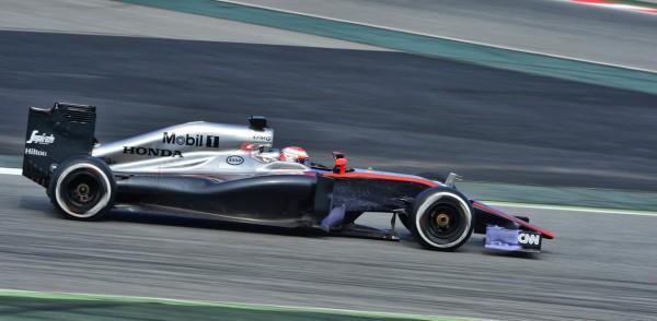 F1 2015 MONTMELO - 27 FEVRIER - JENSON BUTTON MCLAREN HONDA - Photo MAX MALKA