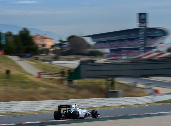F1-2015-MONTMELO-Dimanche-1er-mars-VALTTERI-BOTTAS-avec-sa-WILLIAMS-MERCEDES-Photo-Antoine-CAMBLOR