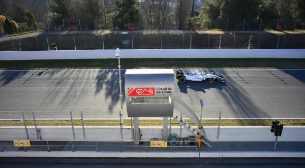 F1 2015 MONTMELO - Test Samedi 28 fevrier - FORMULA ONE TESTS DAYS - FELIPE MASSA WILLIAMS MERCEDES - Photo MAX MALKA.