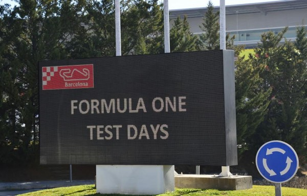F1 2015 MONTMELO - Test Samedi 28 fevrier - FORMULA ONE TESTS DAYS - Photo MAX MALKA
