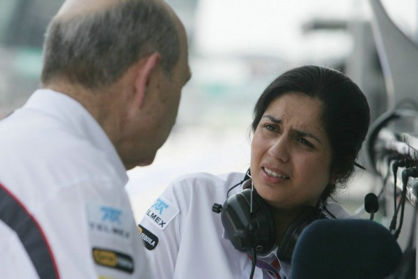 F1-Peter SAUBER et Monisha KALTENBORN