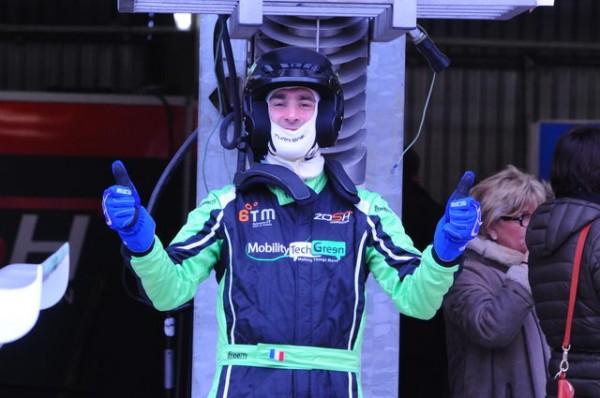 Funcup 2015 Le Mans - Stéphane content de lui après son relais - Photo autonewsinfo