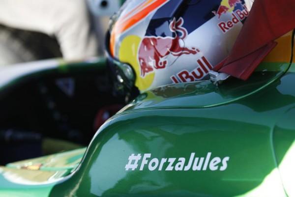 GP2 2014 SOTCHI - Pierre GASLY comme tous les pilotes de F1 GP2 et GP3 pensent à JULES BIANCHI.