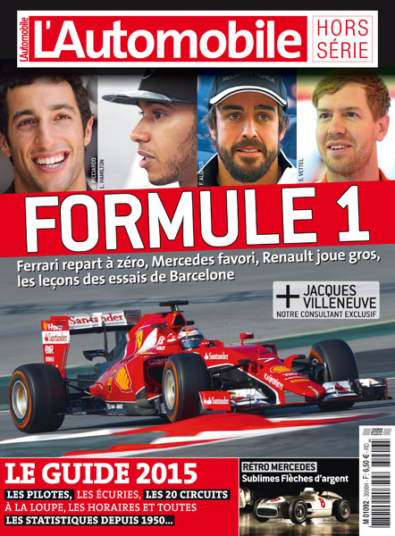 GUIDE F1 AUTOMOBILE MAGAZINE 2015