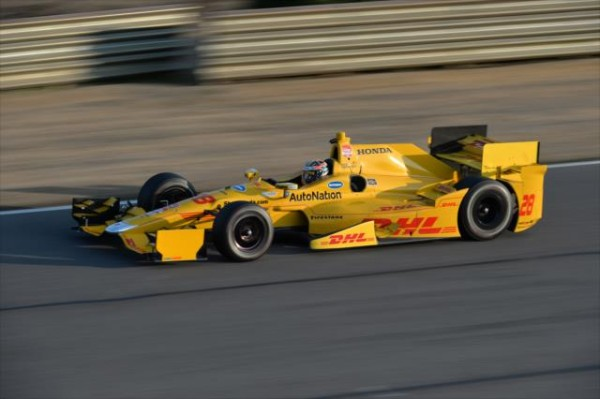 INDYCAR-2015-Test-BARBER-en-ALABAMA-le-17-mars-RYAN-HUNTER-REAY