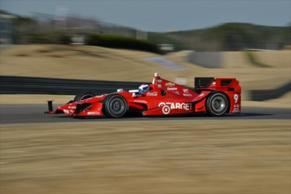 INDYCAR-2015-Test-BARBER-en-ALABAMA-le-17-mars-SCOTT-DIXON-Team-CHIP-GANASSI