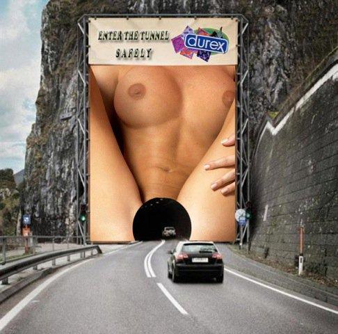 LIMITATION - DUREX Pub autoroute Nice Monaco