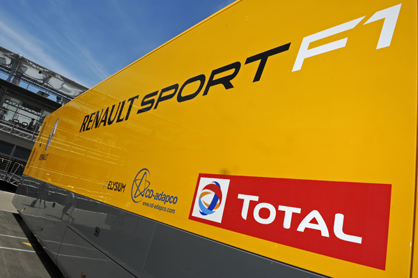 LOGO CAMION RENAULT SPORT F1