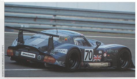 MARCOS 600 aux 24 Heures du MANS en 1995.