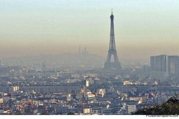 Pollution air a Paris