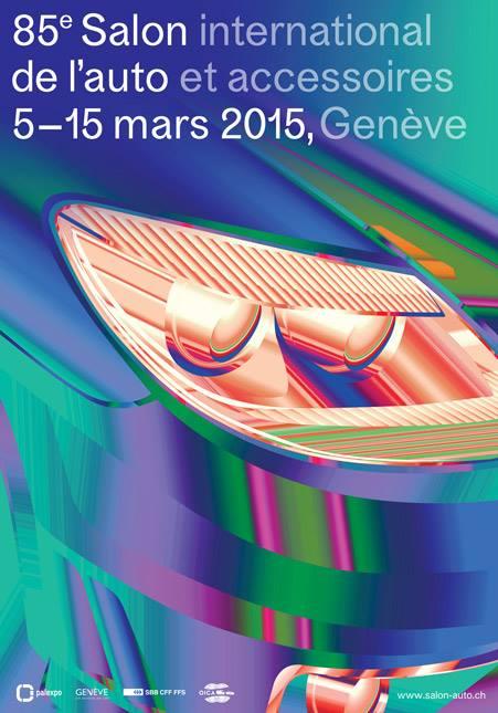 SALON DE GENEVE 2015  Affiche
