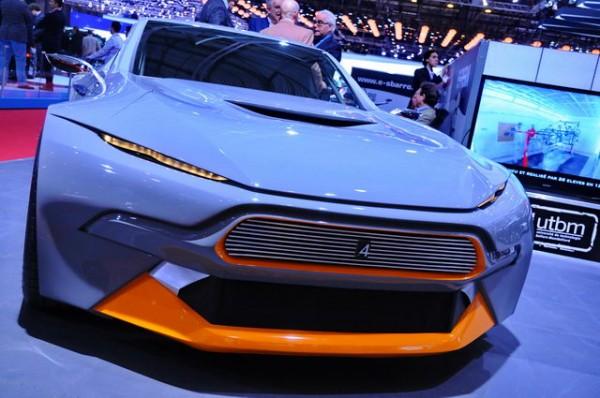 SALON GENEVE 2015 Concept car - Ecole ESPERA SBARRO -