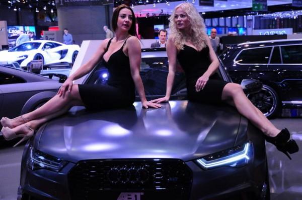 Salon Geneve 2015 - Abt girls