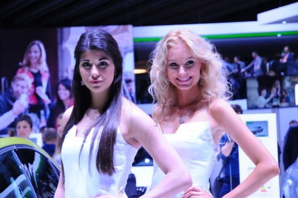 Salon de Geneve 2015 - Stand SKODA