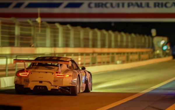WEC-2015-Circuit-PAUL-RICARD-Essai-de-nuit-PORSCHE-N°-92-Photo-Antoine-CAMBLOR