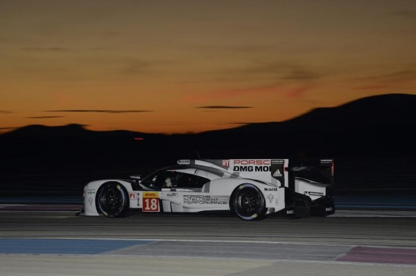 WEC-2015-PAUL-RICARD-Essai-de-nuit-Vendredi-27-Mars-PORSCHE-919-N°18-Photo-Max-MALKA