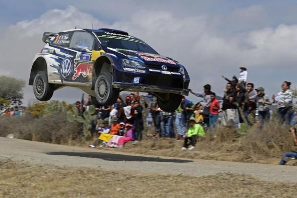 WRC 2015 MEXIQUE - La VW POLO WRC vole vers la victoire ce 8 mars